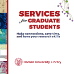 Brochure of Library services for graduate students (PDF)