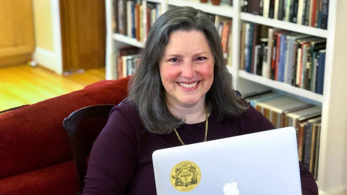 Librarian Susette Newberry