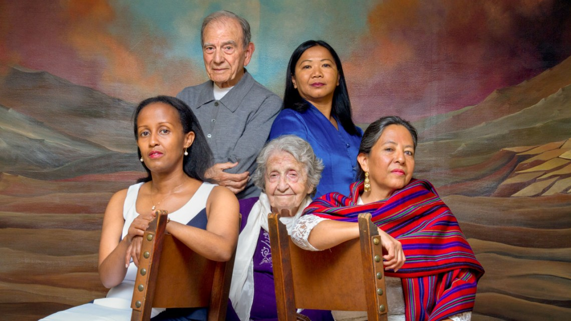 Survivors of genocide featured in the Visual History Archive