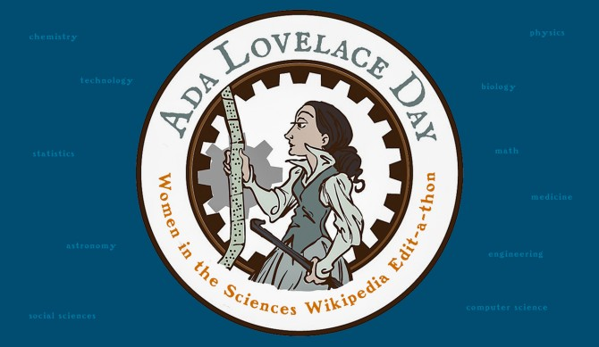 """Bryant and Wilcox aim to boost the Wikipedia representation of women in STEM fields during """"Ada Lovelace Day: Women in the Sciences Wikipedia Edit-a-thon,"""" scheduled for Oct. 6, noon to 5 p.m., in 160 Mann Library, in advance of the international celebration honoring women scientists."""