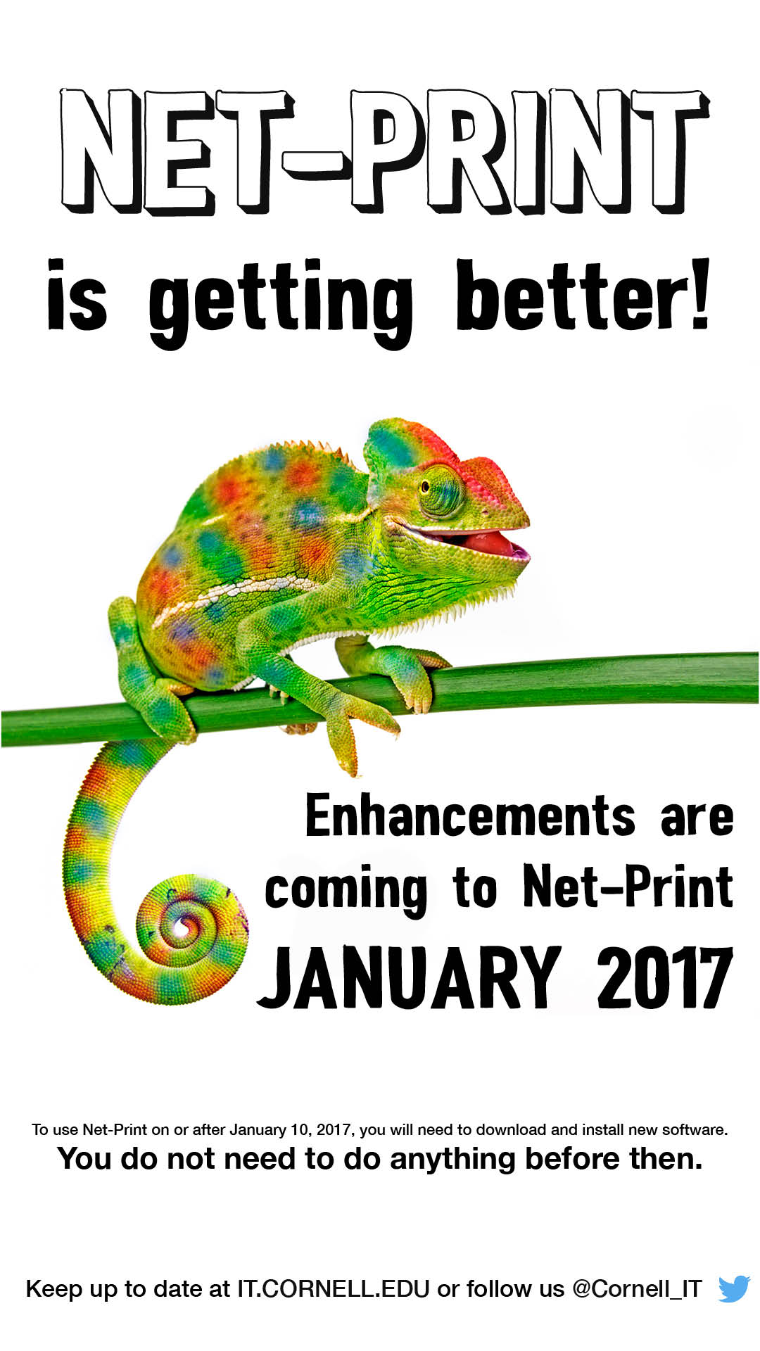 NET-PRINT is getting better! Enhancements are coming to Net-Print January 2017. Download and install new software starting Jan. 10, 2017.